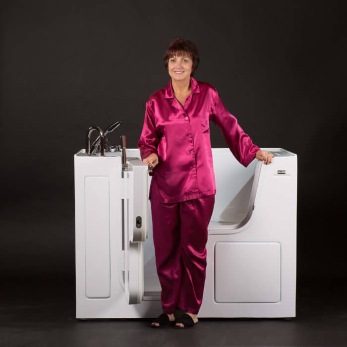 Safety Bath Walk In Tubs_Standing Lady